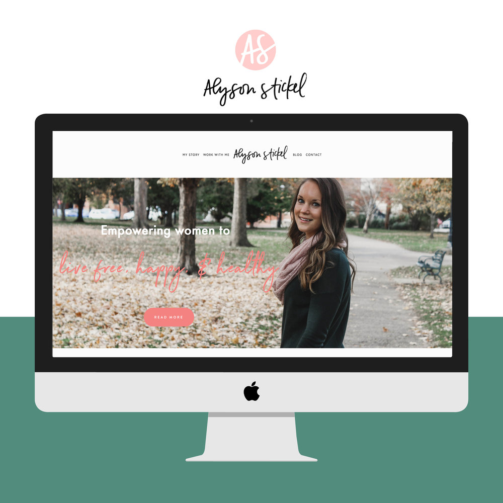 Alyson Stickel | Website and Brand Identity