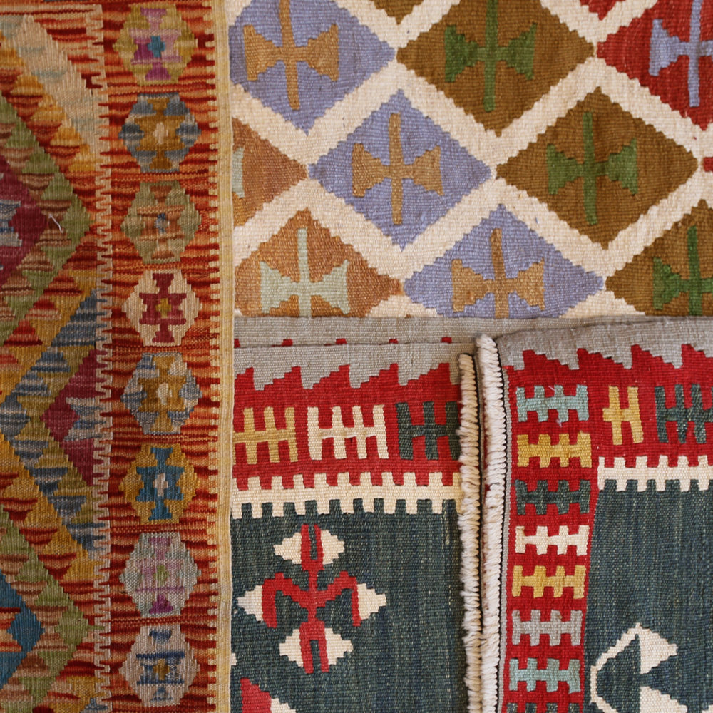 KILIM RUGS - Our range of contemporary rugs and carpets have been influenced by the most current and cutting edge designers around. Designs are varied as the number of decorating styles found today.