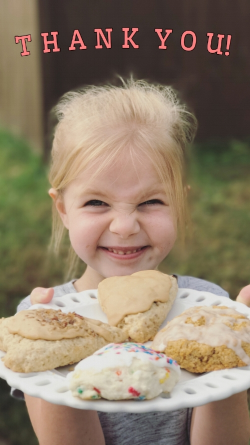 Smiley Eiley Scones - Photo by Madison Lock