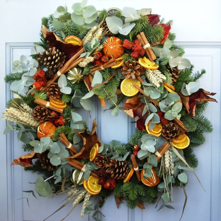 Fragrant Christmas Wreath — Worle Florists | Free Local Delivery in the  Weston Super Mare from your local friendly florist