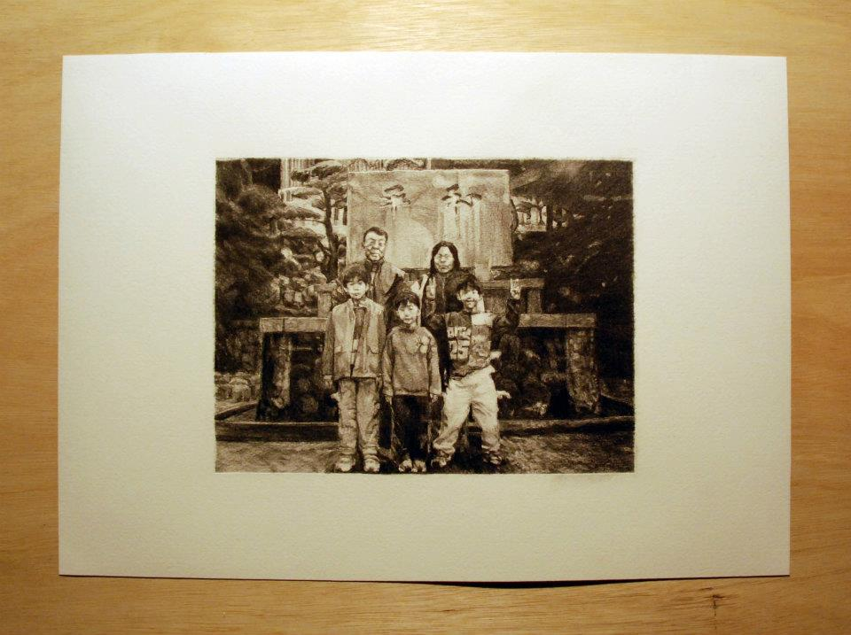 """The last family photo of Nakano family""/2011"