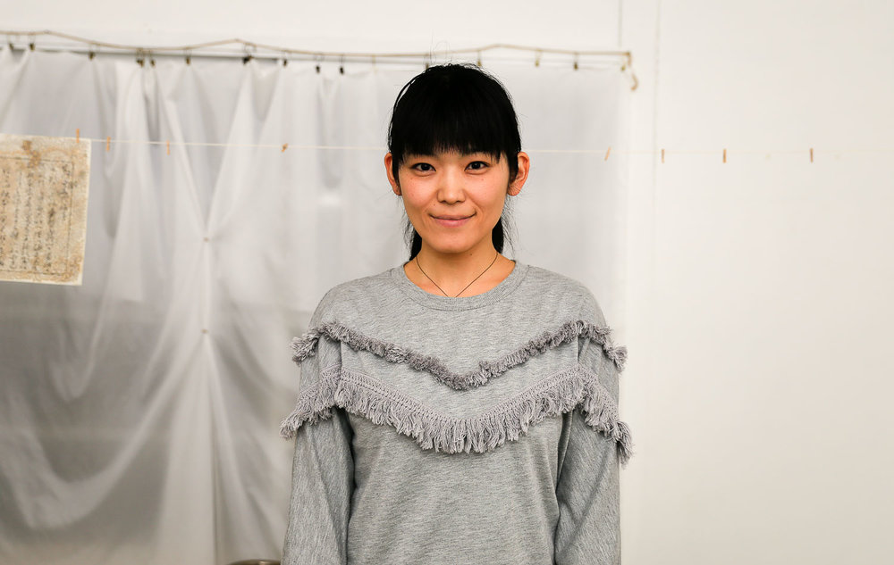 安部寿紗(お米美術家)