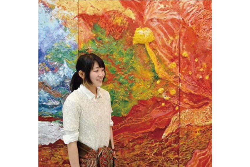 大平由香理さん(日本画家)