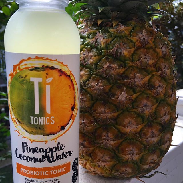10 cal per bottle and only 2grams of sugar in total! Introducing Pineapple Coconut Water!