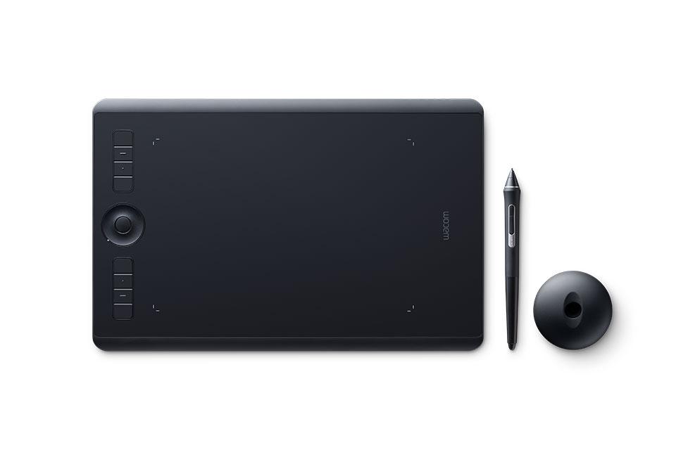 Wacom Intuos Pro   Digital pen tablet  Find it in: The 5th Floor Hub