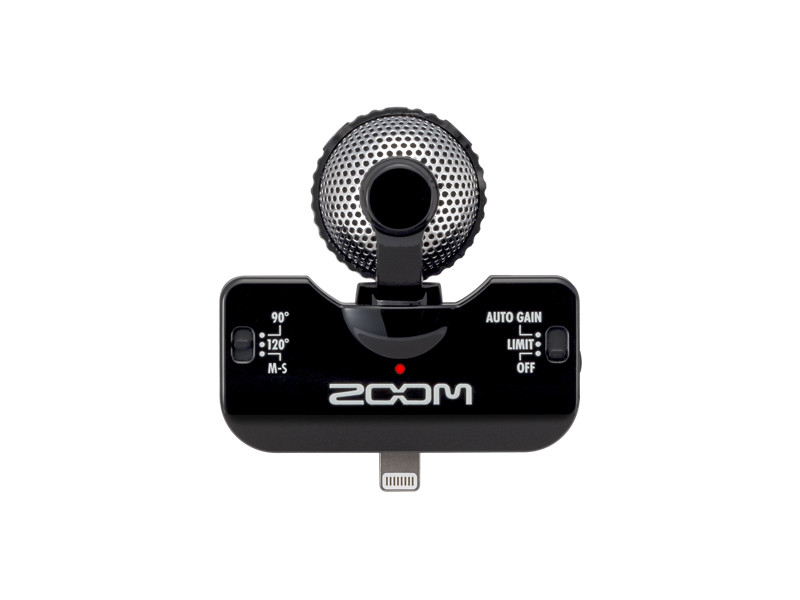 Zoom iQ5   iPhpne microphone recorder  Find it in: The 6th Floor Hub   Download the manual