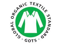 Certified organic cotton