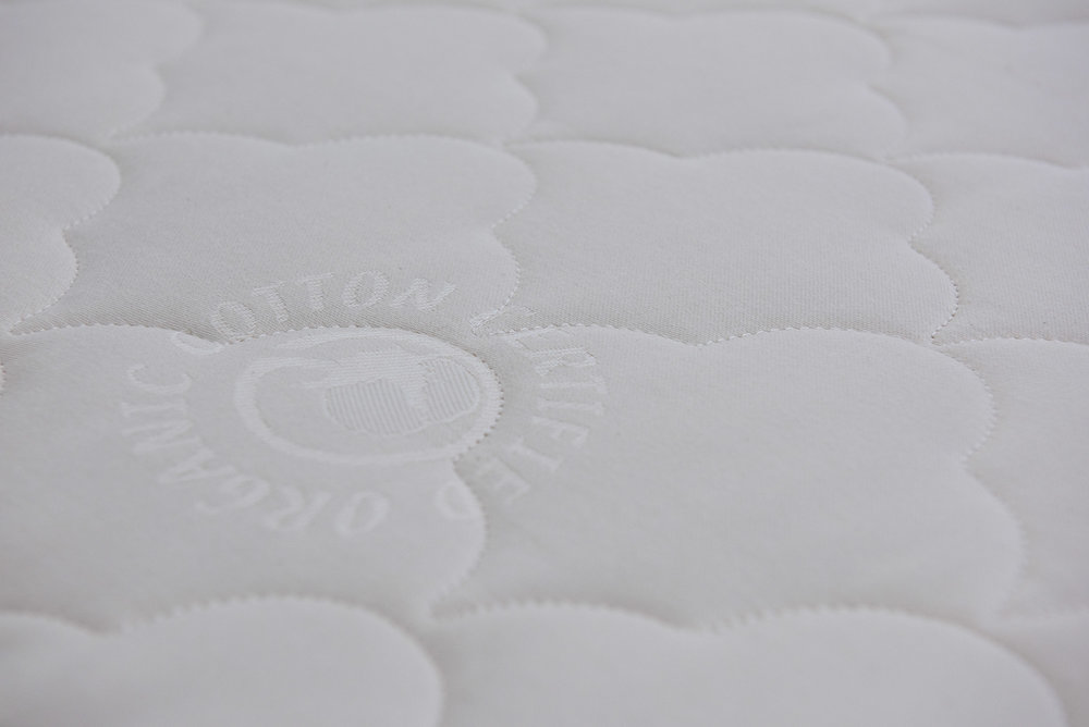 CERTIFIED ORGANIC COTTON-AND-WOOL FULLY QUILTED, LUXURY KNIT COVERS