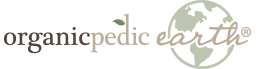 OrganicPedic Earth logo