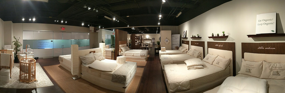 Our Las Vegas Showroom Displays Our Full Line of Mattresses and Accessories.