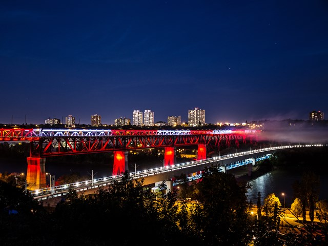 Edmonton High Level Bridge. - Oct 21
