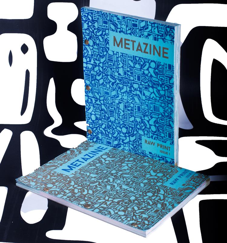 Metazine - Dizzy ink - Editorial design - Printing design.jpg