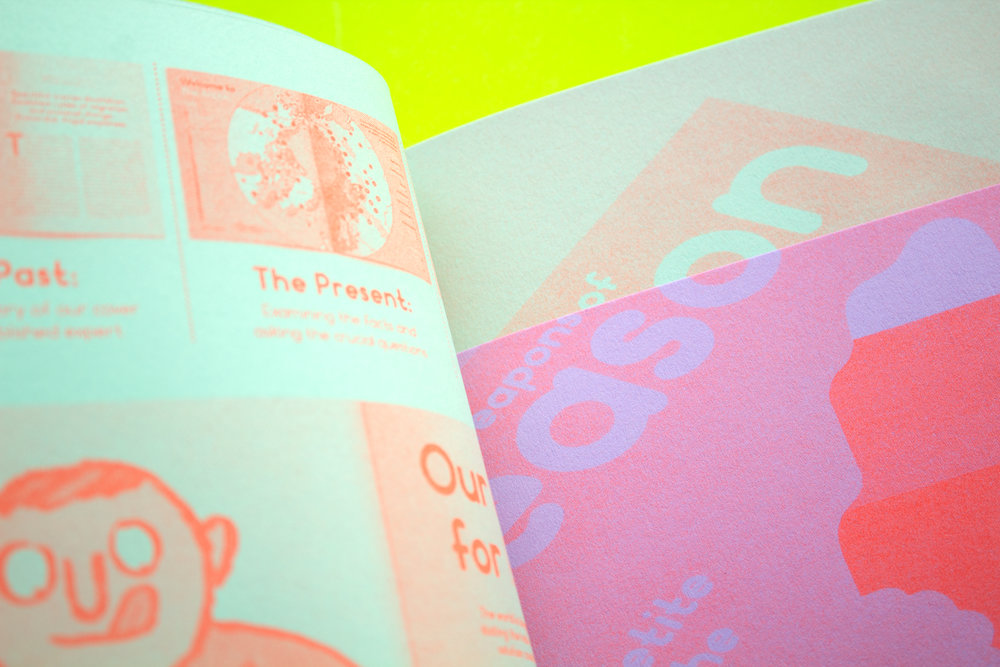 Metazine Issue 2 - Dizzy Ink - Book Design - Risograph.jpg.jpg