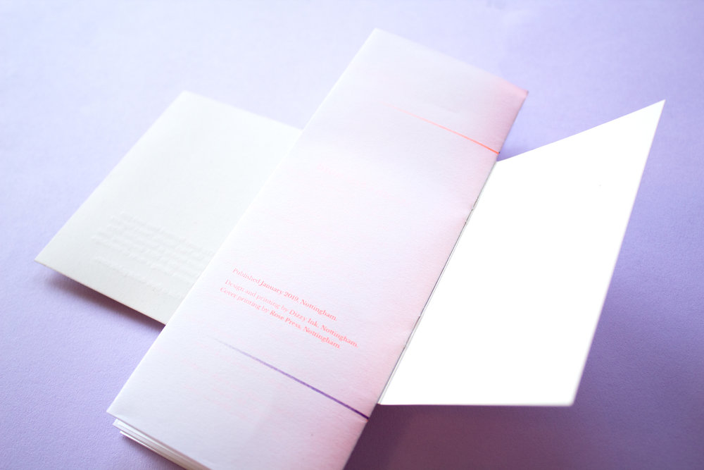 Four Poets - Dizzy Ink - Book Design - Risograph Printing