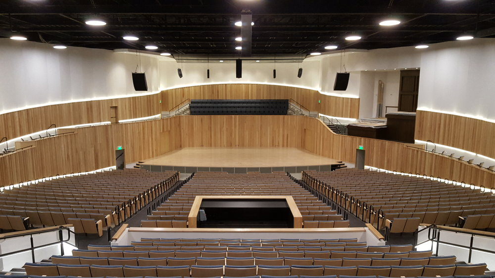 Utah State University Logan, Kent Concert Hall Renovation