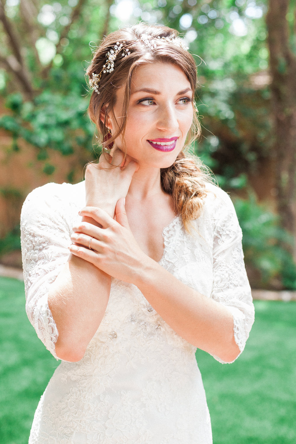 HAIR + MAKEUP: Harley Ann Artistry | PHOTO: April Robert | FLOWERS: Heritage Flowers AZ