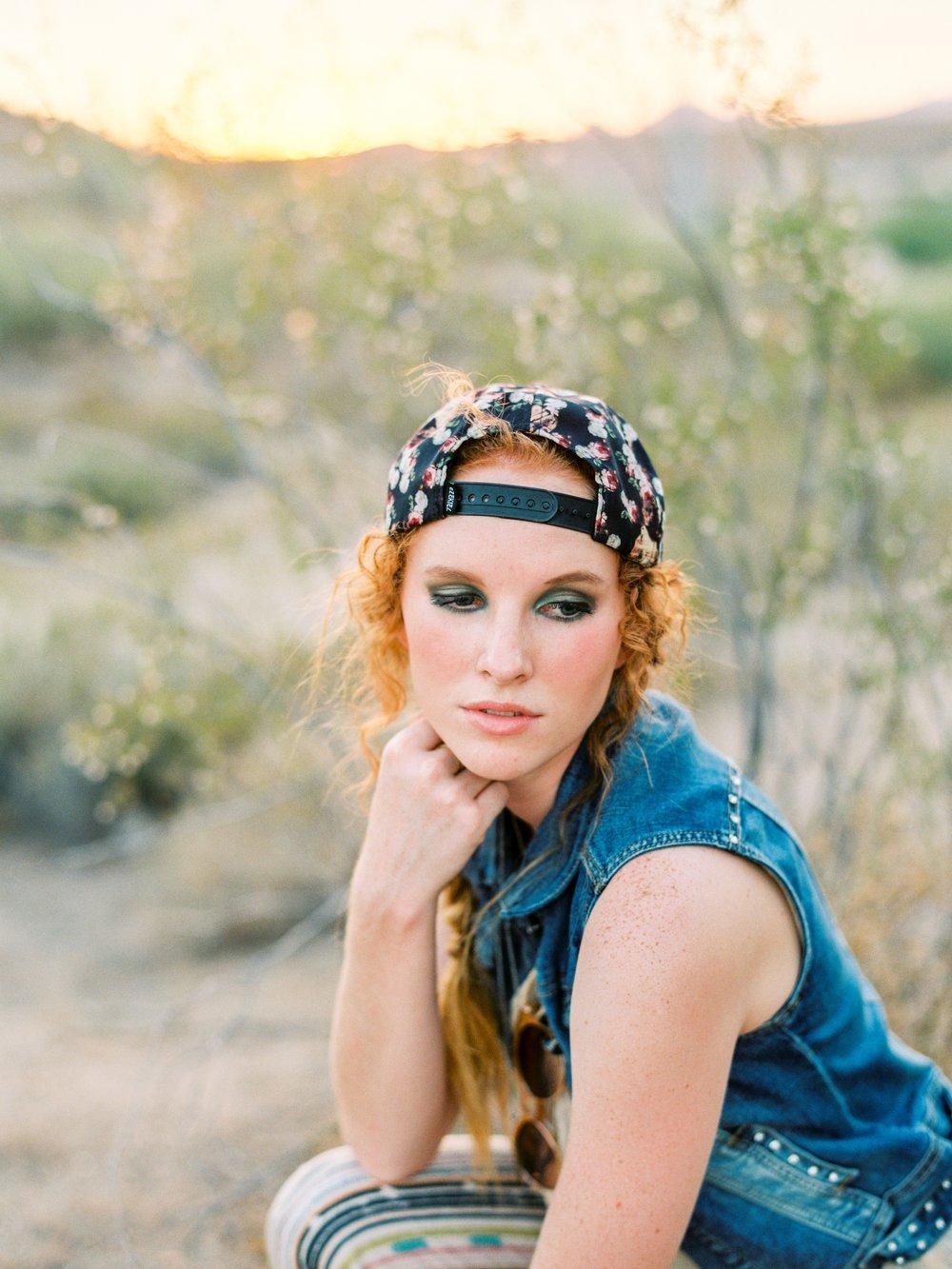 HAIR + MAKEUP: Harley Ann Artistry | MODEL: Jamie Richard | PHOTO: Connie Balluff