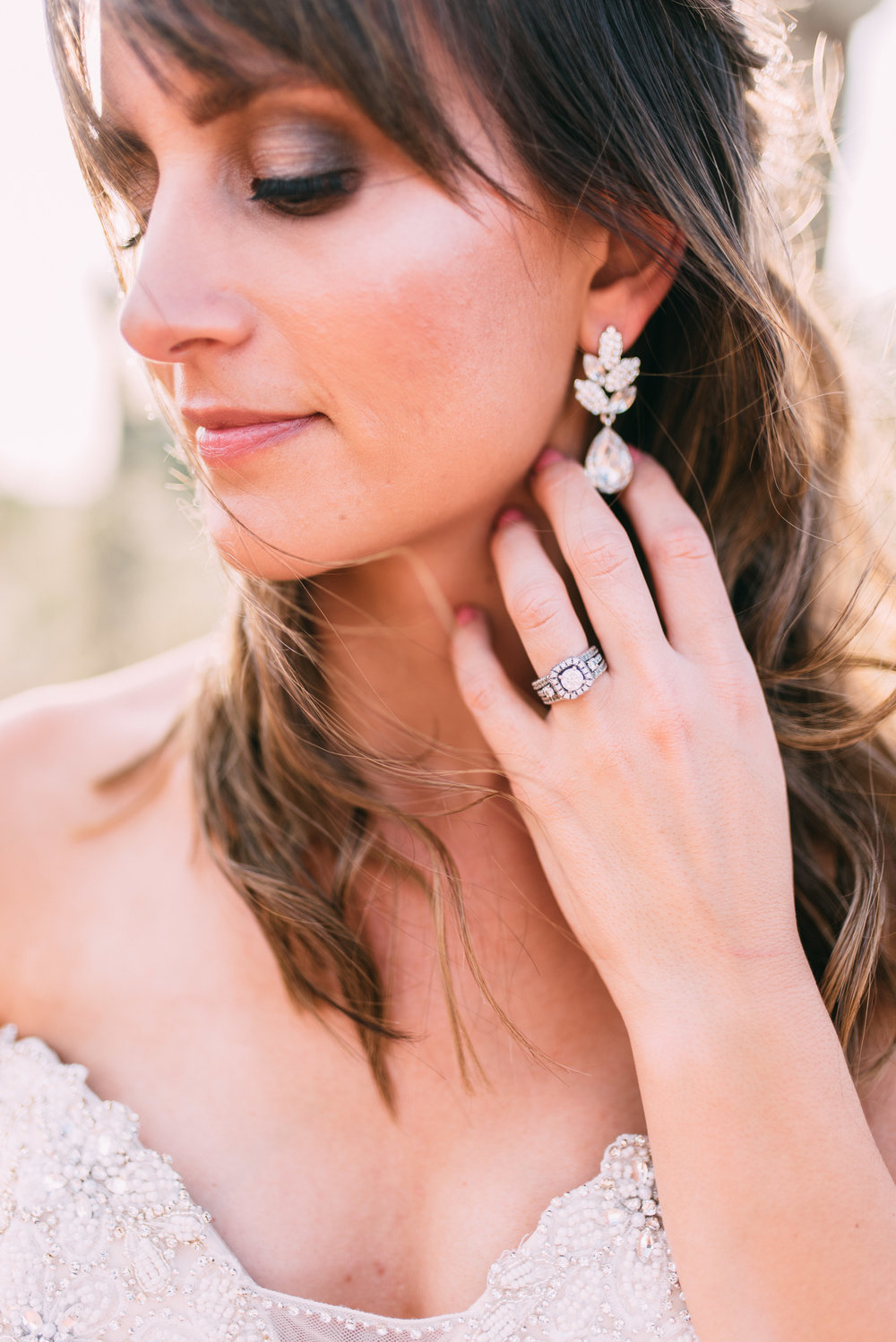 HAIR + MAKEUP: Harley Ann Artistry | PHOTO: Alyssa Ryan | DRESS: Brilliant Bridal | FLOWERS: Moelleux Events
