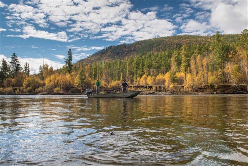 Eg-Ur River, Mongolia