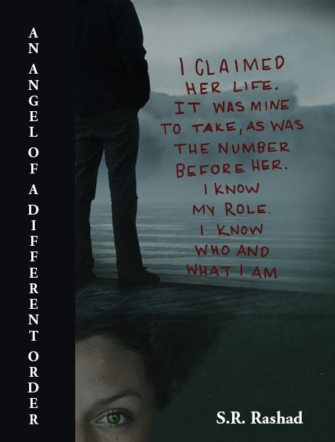 Handlettered bookcover