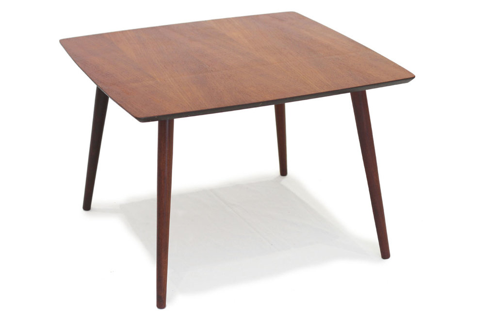 SOLD Teak Side Table By Punch Design FURNITURE Teak Mid - Coffee table depth