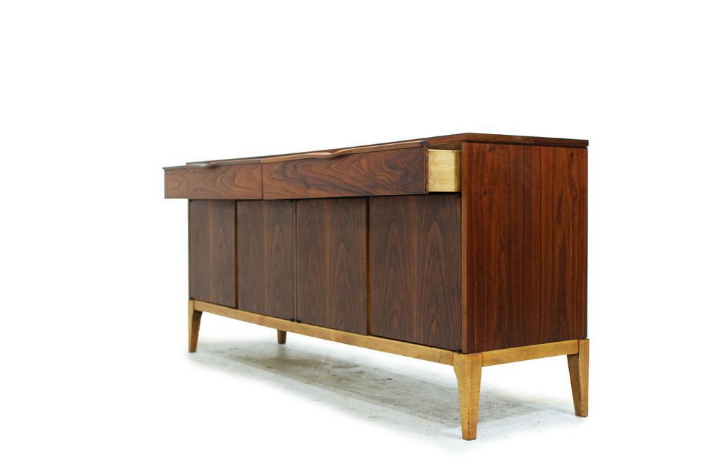 Canadian Mid Century Modern Walnut Sideboard