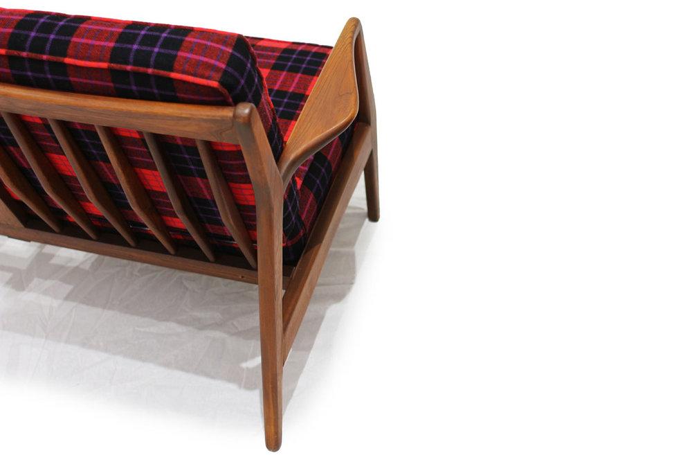 Teak 3 Seat Sofa Designed by Kofod Larsen