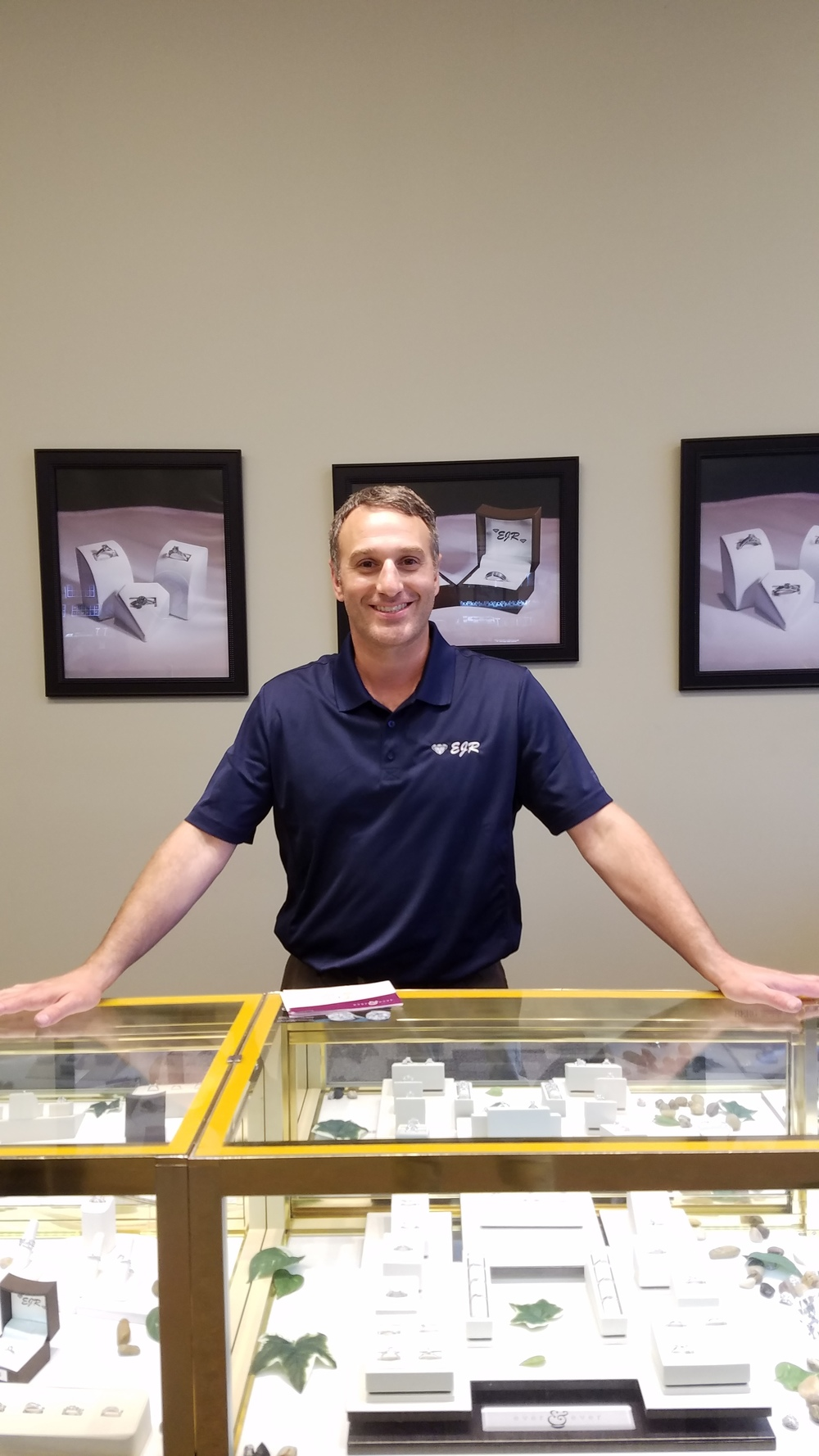 Chris has 18 years experience in the jewelry industry he can help you with all your jewelry needs or even educate you about the finest diamonds and gems.