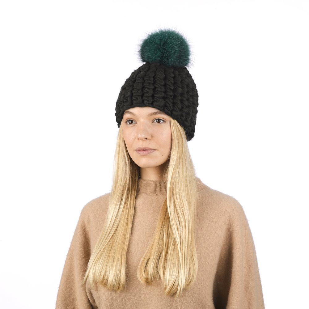 dark olive • green xl pom