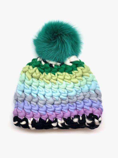 bd4aafe9e Mischa Lampert Hand-Knitted Hats for Kids   Handspun Wool ...