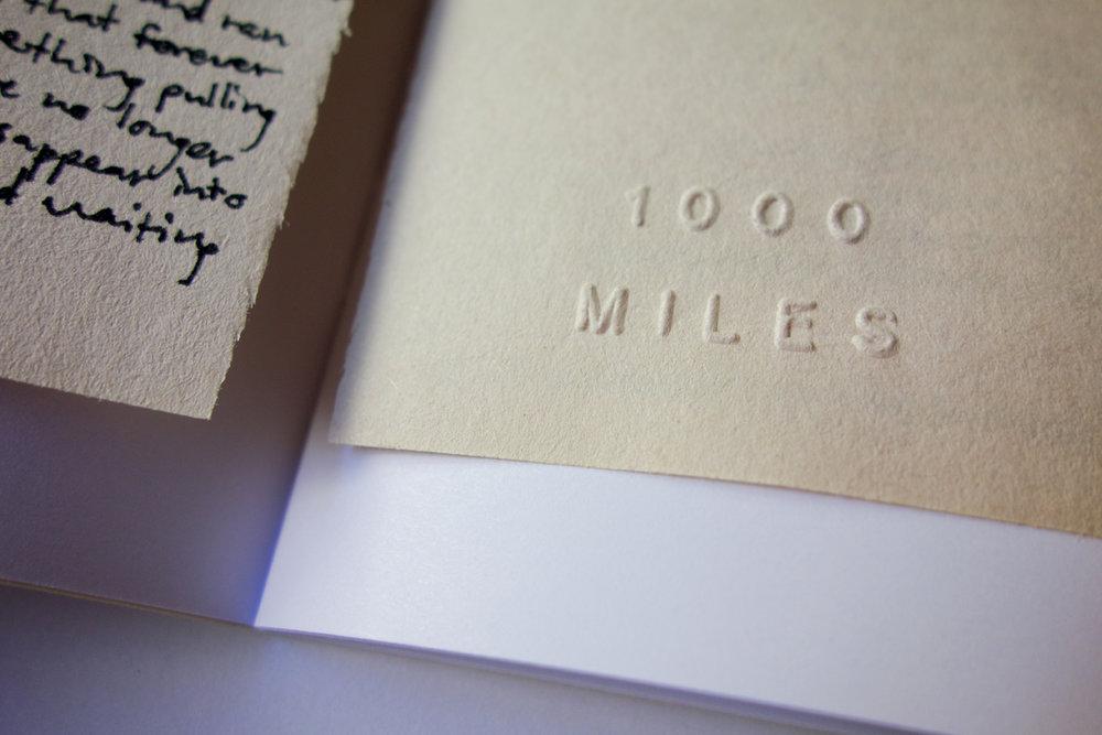 Jason Jaworski 1000 Miles Zine Special Edition