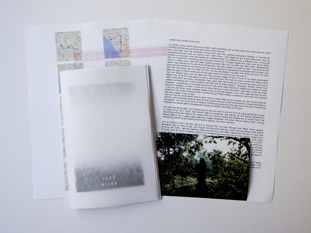 Jason Jaworski 1000 Miles Photo Zine