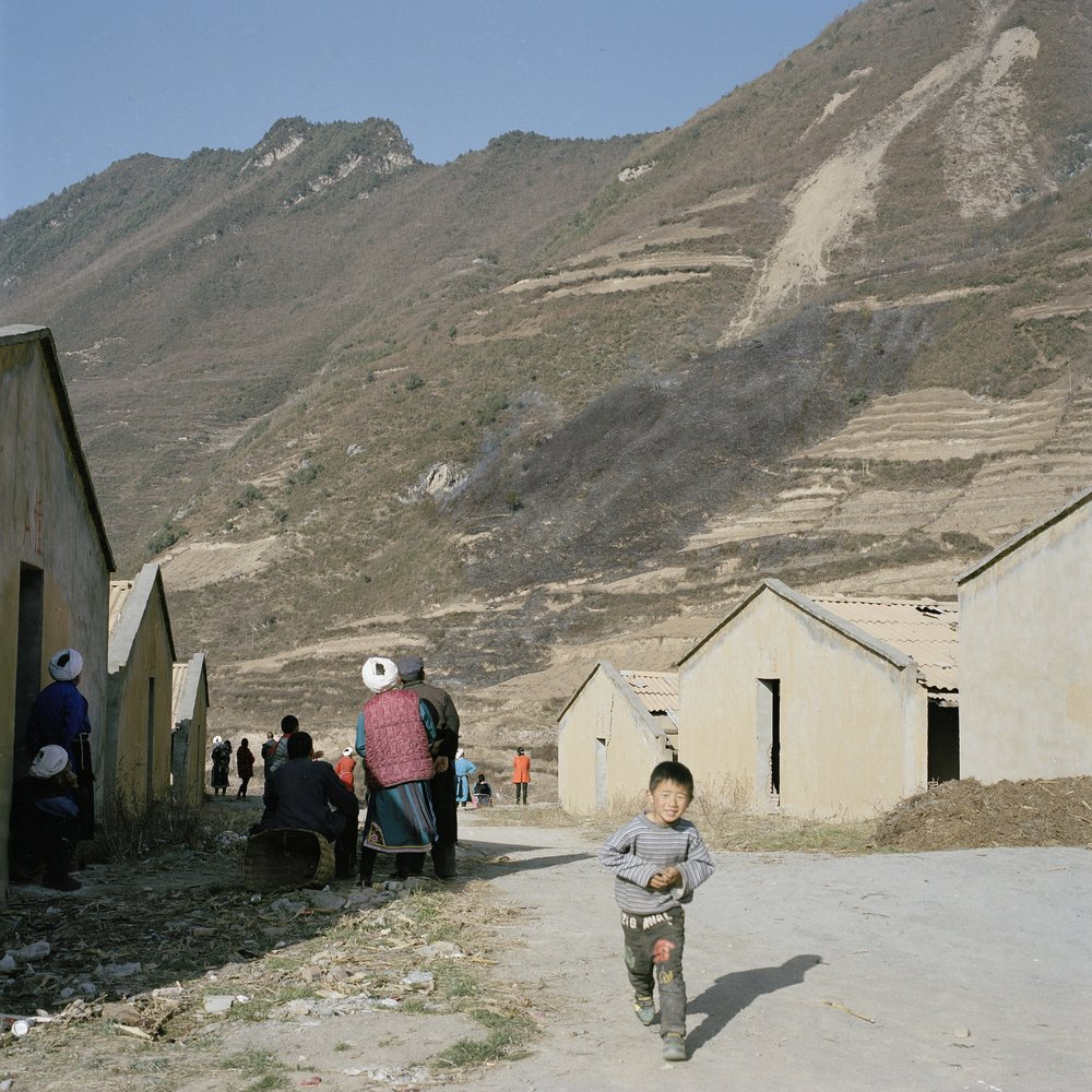 Out of Control Burning of Wild Grass, Radish Village, Sichuan, China, March 2016