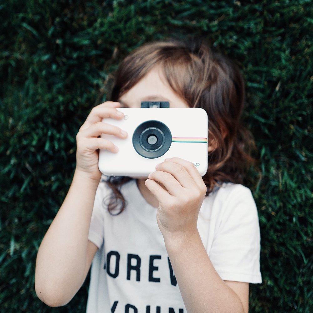 Polaroid - Content created for Polaroid's Instagram.