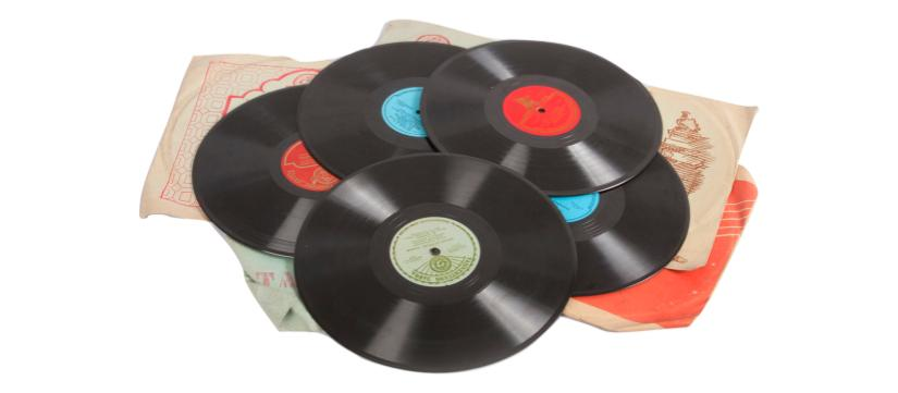 Vinyl clutter