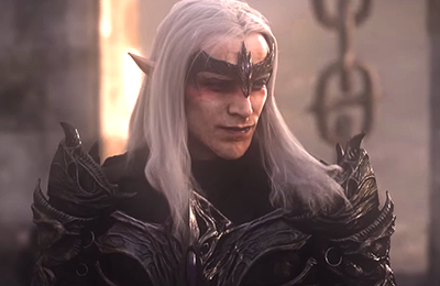 Mannimarco, as seen in a cinematic for  The Elder Scrolls Online