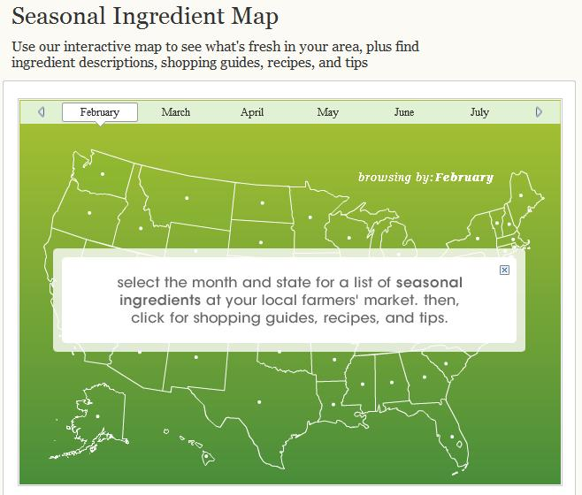 season ingredient map