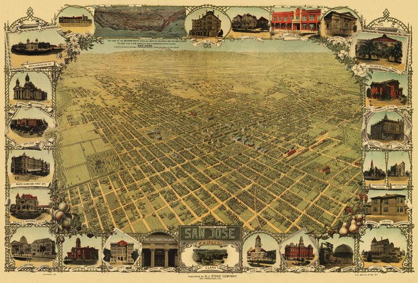 San Jose Map 1901