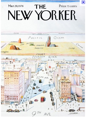 How New York sees the world