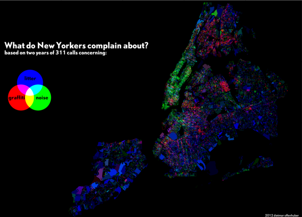 What do New Yorkers complain about?