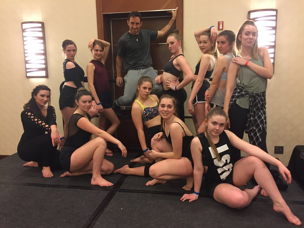 Seattle DEA Musical Theatre Senior Class with Scott Fowler