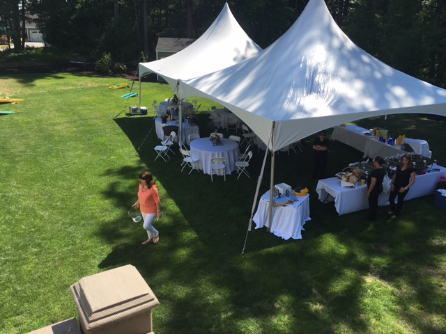 OUR 60 PERSON PACKAGE FOR A NEEDHAM GRADUATION PARTY