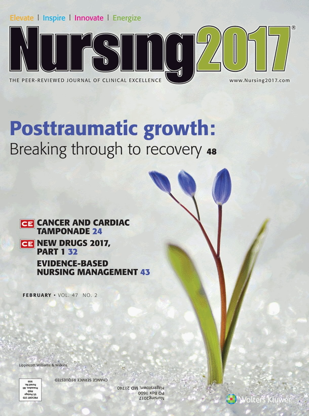 Nursing 2017 - February 2017, Volume: 47 Number 2, page 48 - 52