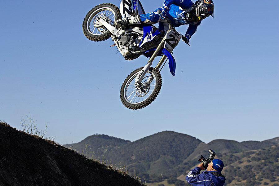 Yamaha motocross shoot