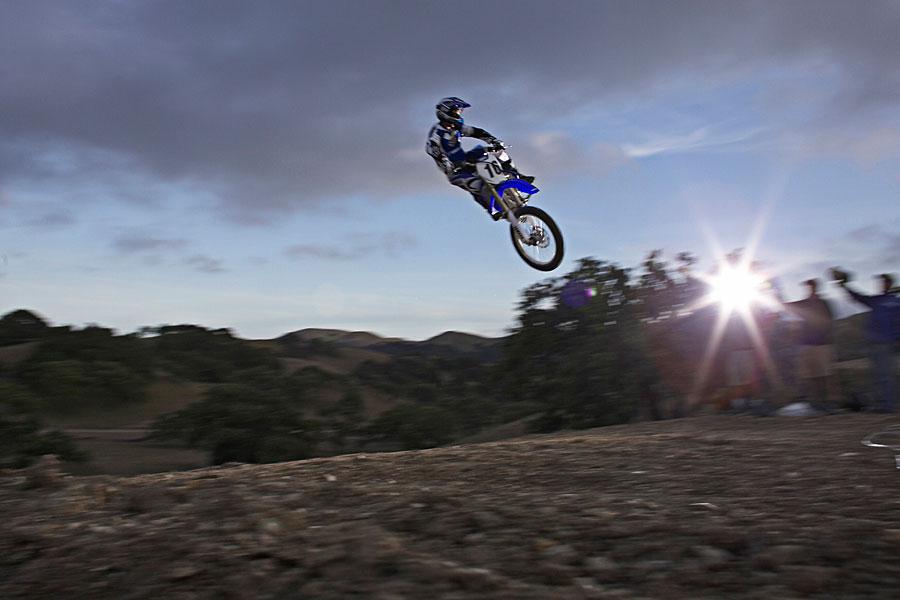 Last shot of the day at a Yamaha motocross shoot