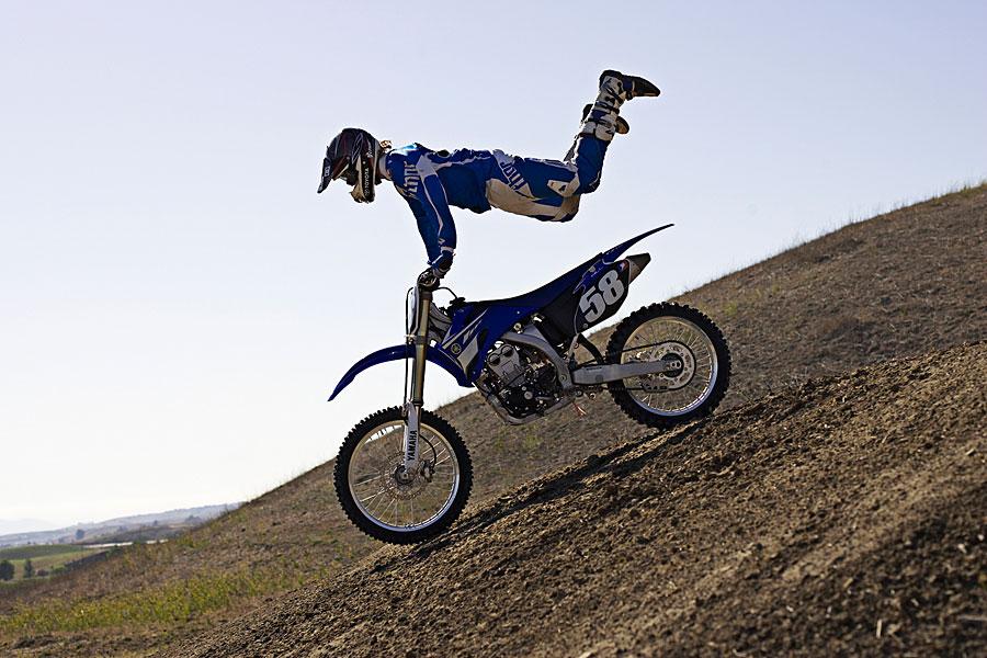 Yamaha motocross track shoot