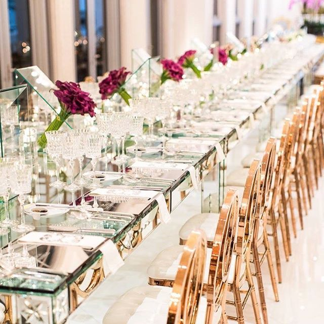 Private dinner with @jgroupevents for @wizofl, and we just love the details! 📸: @sveproductions