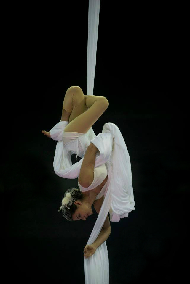 """Feeling Good"" Aerial Silk Solo Multiple Costume Options Available"