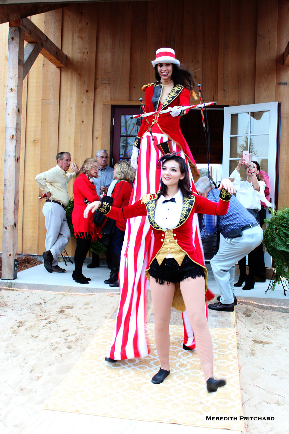 Destin Aerial Events Stilt Walking Entertainment