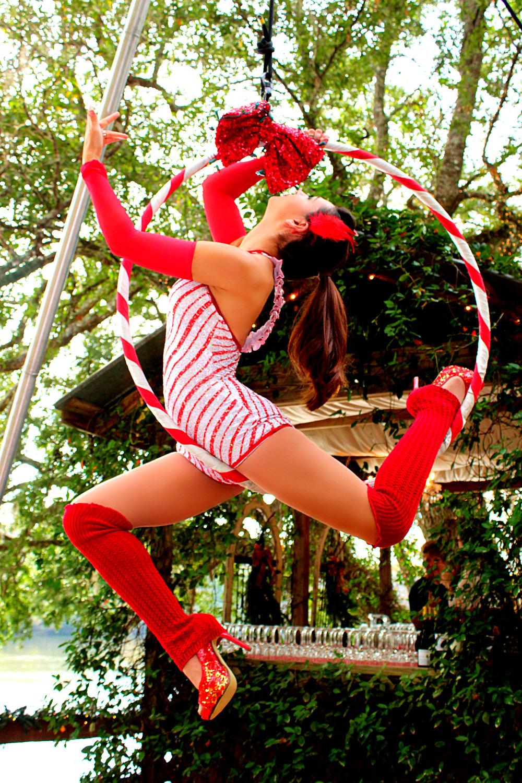 Aerial Events Destin Lyra Hoop Circeau Dance Performance Entertainment
